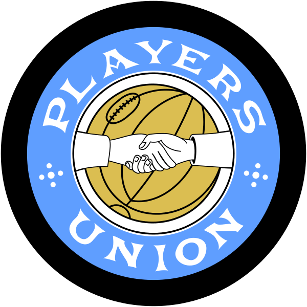 Fußballtransfer Emblem Players Union