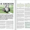 Artikel über die Entwicklung der Spielfeldmarkierungen